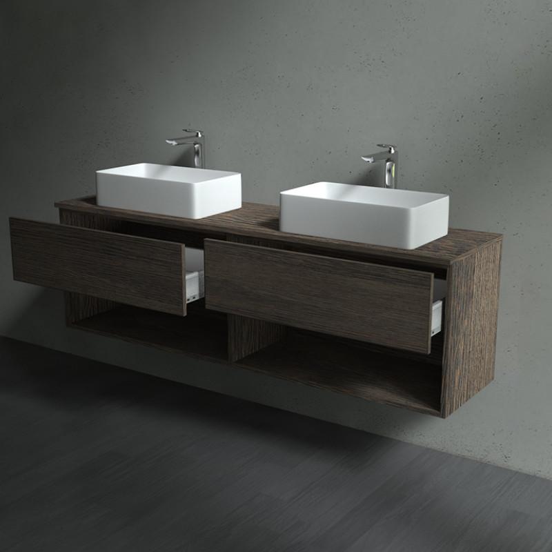 Badezimmer Unterschrank mit Schubladen - Zingst 04A