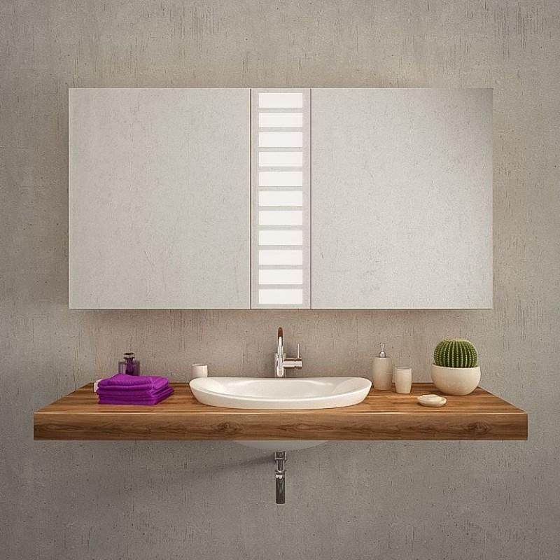 Badezimmerspiegelschrank Auf-/Unterputz - LEXINGTON