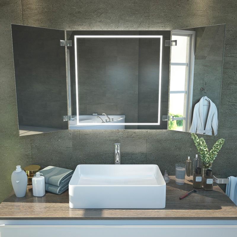 Badspiegel klappbar KS25 - OLIVIA