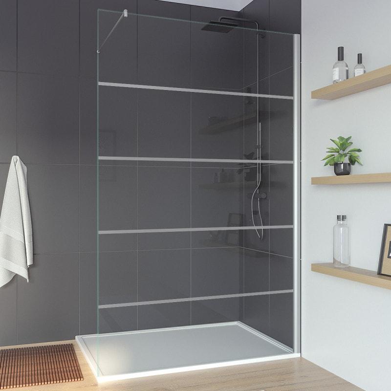 Duschabtrennung Glas Sonderanfertigung FORRADO 2T