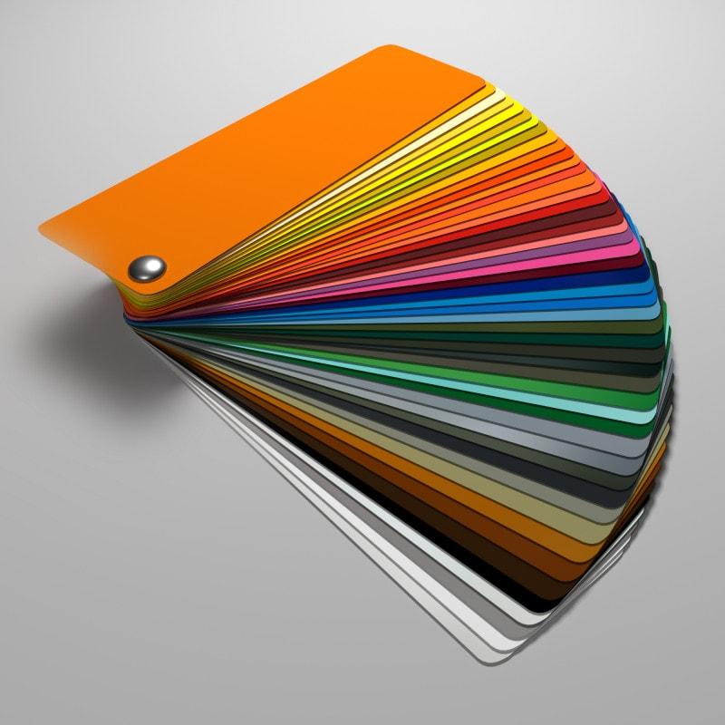 ESG Glas SATINATO lackiert 6 mm - Farbe nach Wunsch