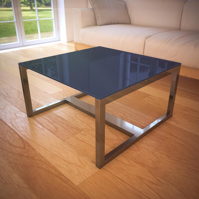 Glasplatte Tisch Anthrazit REF 7016, 6 mm