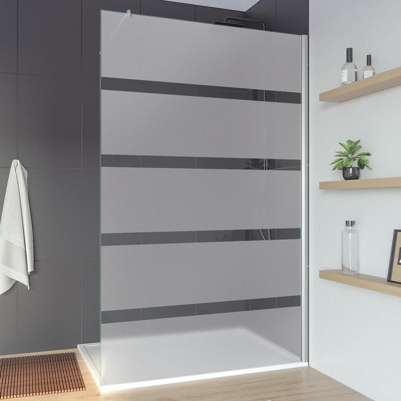 Glaswand Dusche Sonderanfertigung AREA 3T
