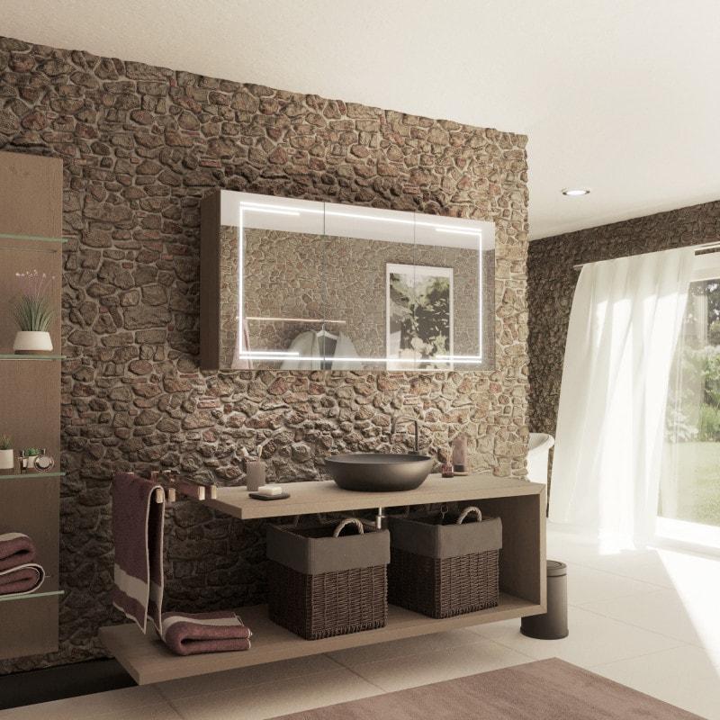 LED Spiegelschrank fürs Badezimmer - KAIRO