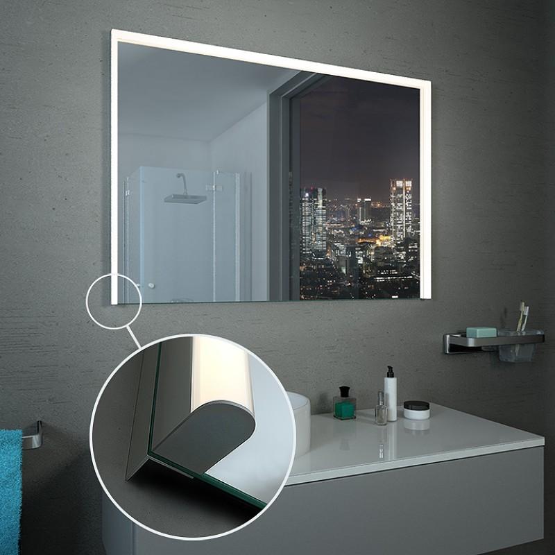 LED Lichtspiegel, opt. mit Uhr - Köln 3