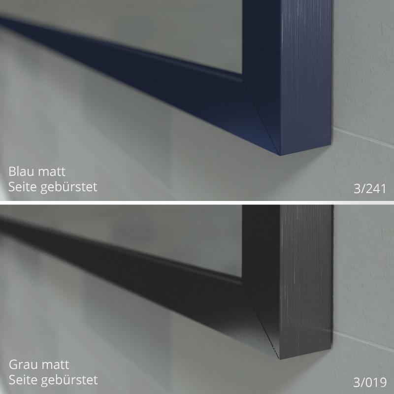 spiegel mit rahmen in wunschfarbe online kaufen spiegel21. Black Bedroom Furniture Sets. Home Design Ideas