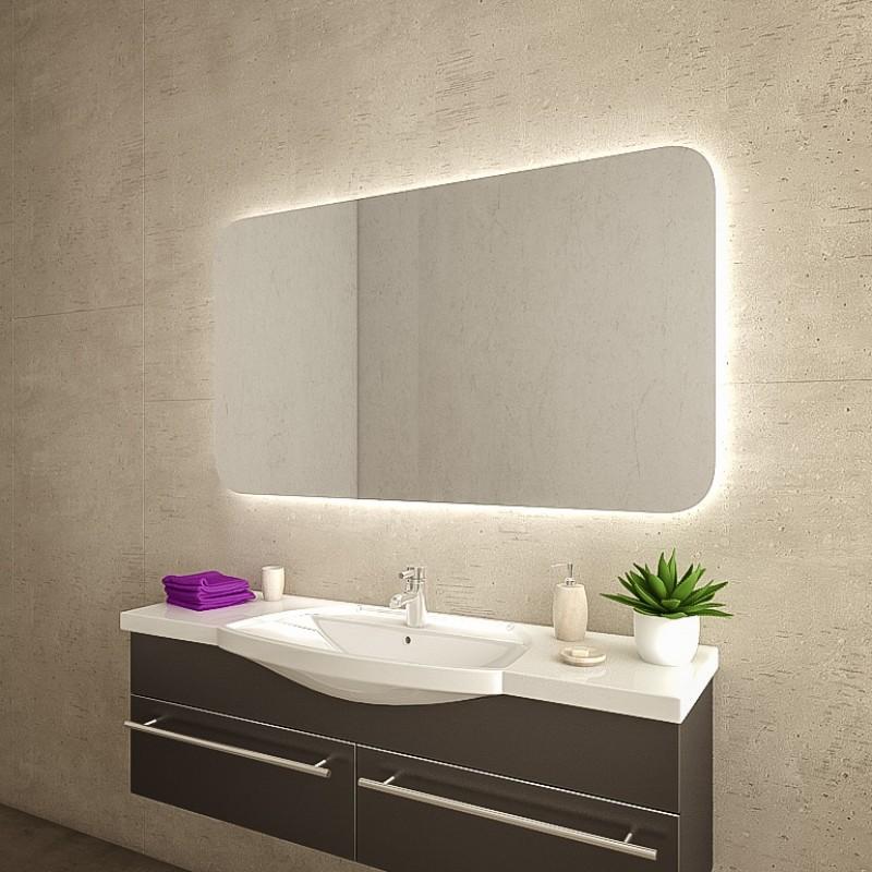 Spiegel mit runden Ecken M09L4R