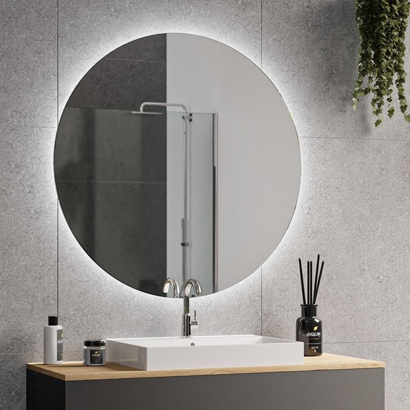Spiegel rund mit Hintergrundbeleuchtung - DIANA