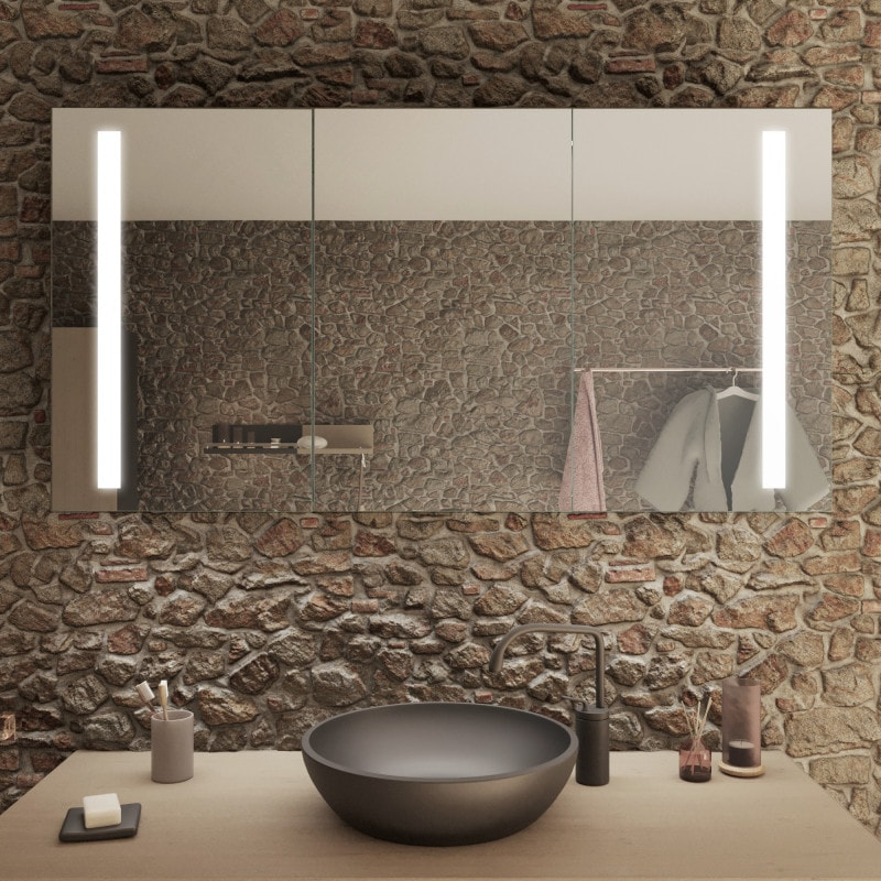 Dresden - Spiegelschrank Bad mit LED Licht online kaufen