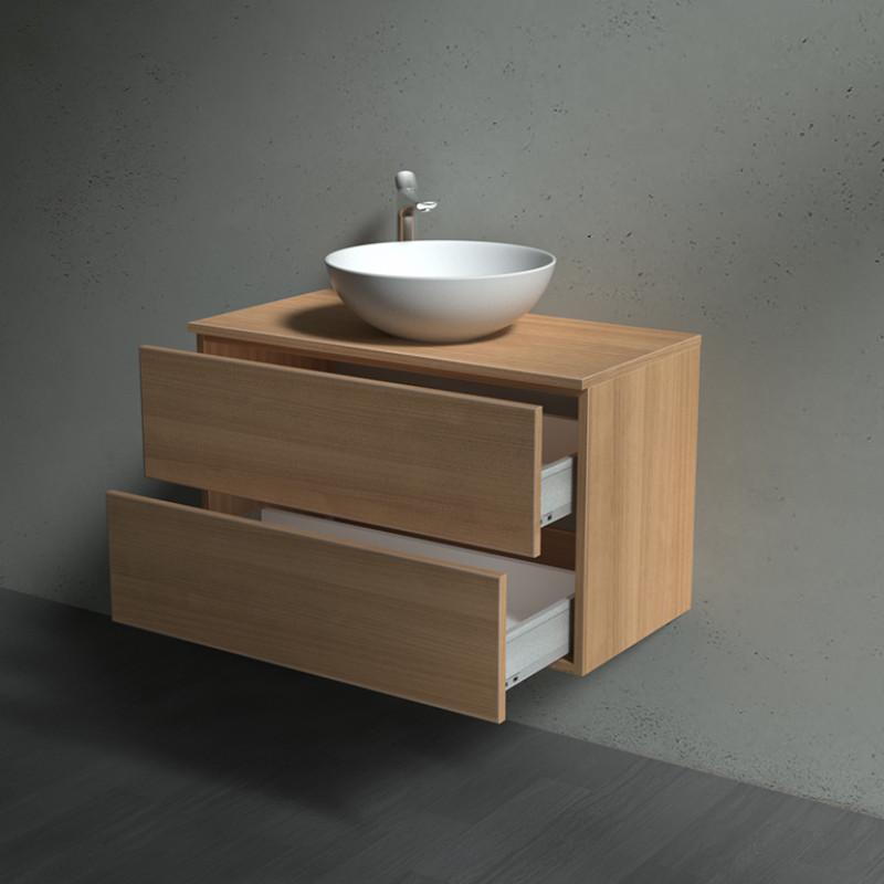 Waschbeckenunterschrank mit Schubladen - Borkum 02A