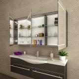 Spiegelschrank fürs Bad mit LED Licht - CHICAGO