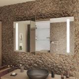 Spiegelschrank Bad mit LED Licht - DRESDEN