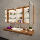 Spiegelschrank mit Beleuchtung - BARCELONA