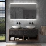 Badspiegel mit LED Beleuchtung - Miami