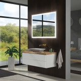 Badspiegel mit LED Beleuchtung - New York