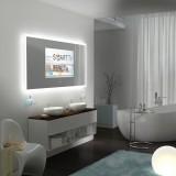 Spiegel mit Fernseher - NEW YORK