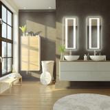 Badspiegel mit LED Beleuchtung - Frisco