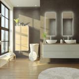 Badspiegel mit Hintergrundbeleuchtung - New Jersey