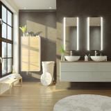 Spiegel beleuchtet fürs Bad - M05L2V