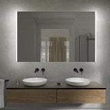 Badezimmer-Spiegel M06L2V, opt. mit Bluetooth