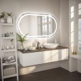 Beleuchteter Spiegel abgerundet F603L4K